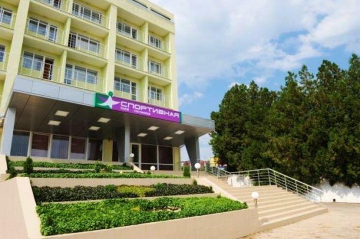 гостиница — Спортивная — Симферополь, фото №1