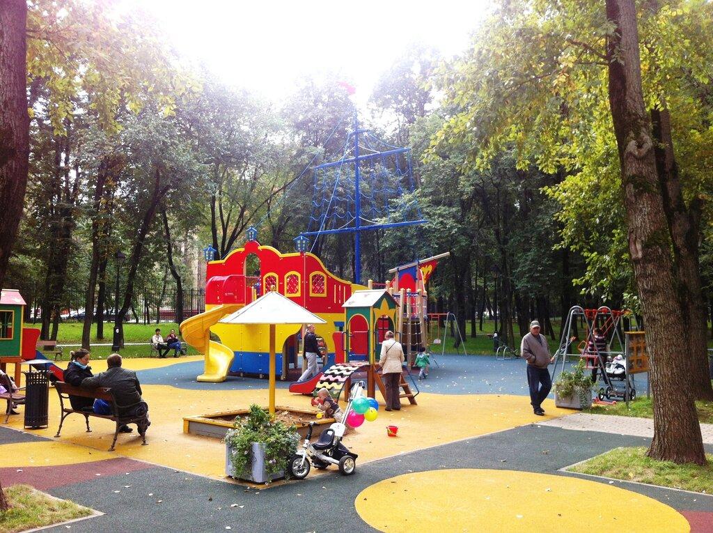 парк культуры и отдыха — Каток с натуральным льдом — Москва, фото №6