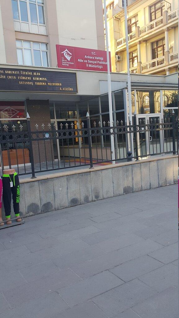 Ankara Aile Calisma Ve Sosyal Hizmetler Il Mudurlugu