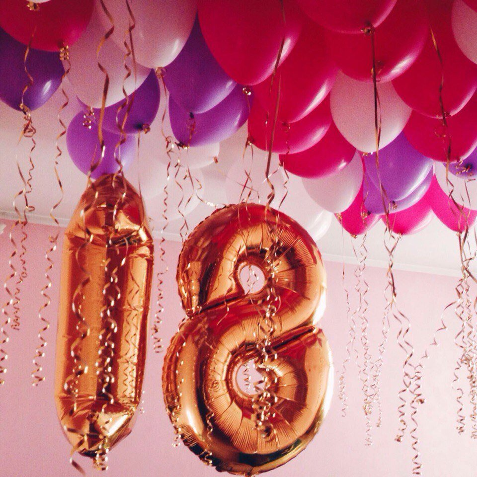 Надписью, 18 лет день рождения фотосессия