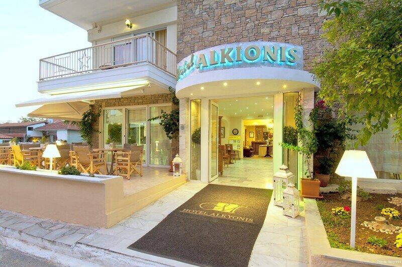 Отель Alkyonis
