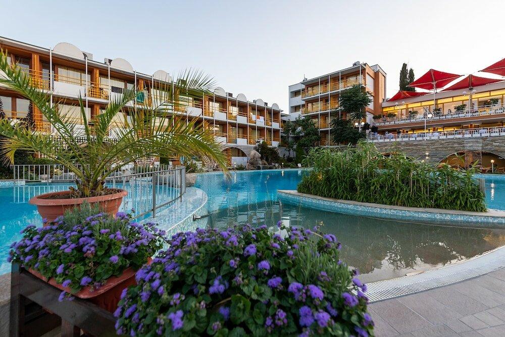 Отель несебр бич солнечный берег фото