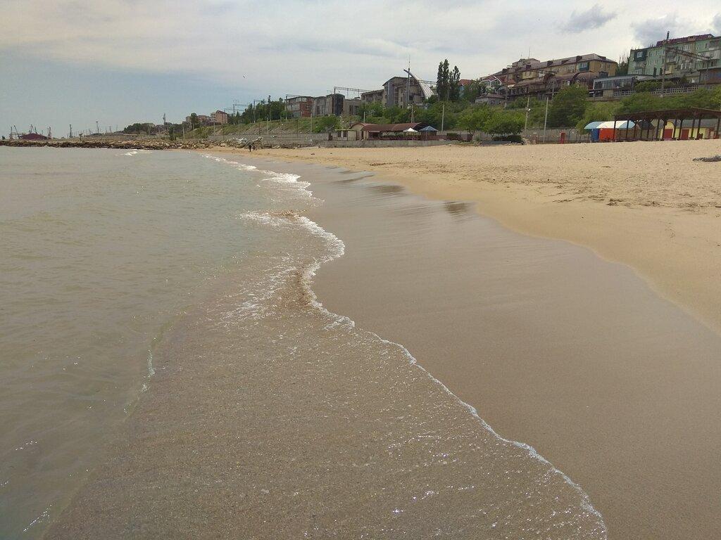 пляж — Пляж Берёзка — Махачкала, фото №1