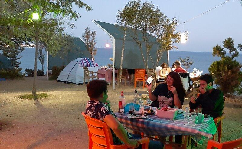 Sakli koy camping