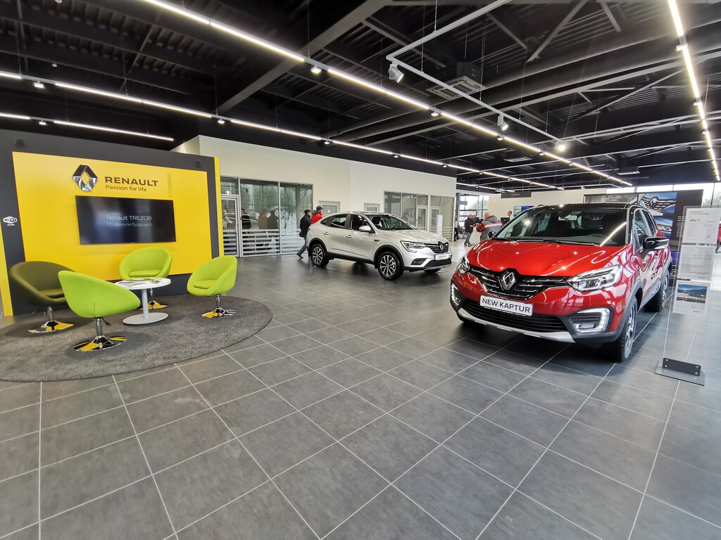 автосалон — Renault — Бобруйск, фото №2
