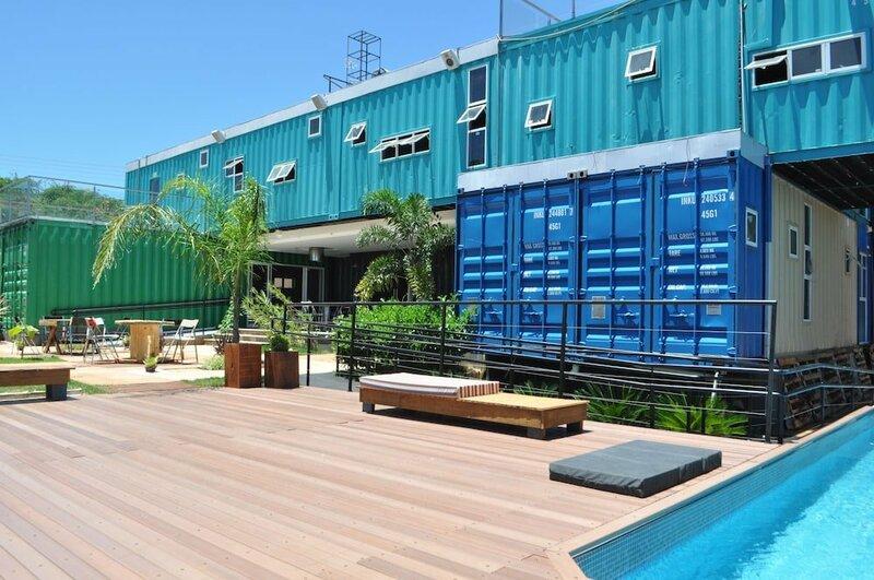 Tetris Container Hostel