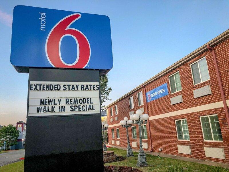 Motel 6 Tulsa, Ok - Central