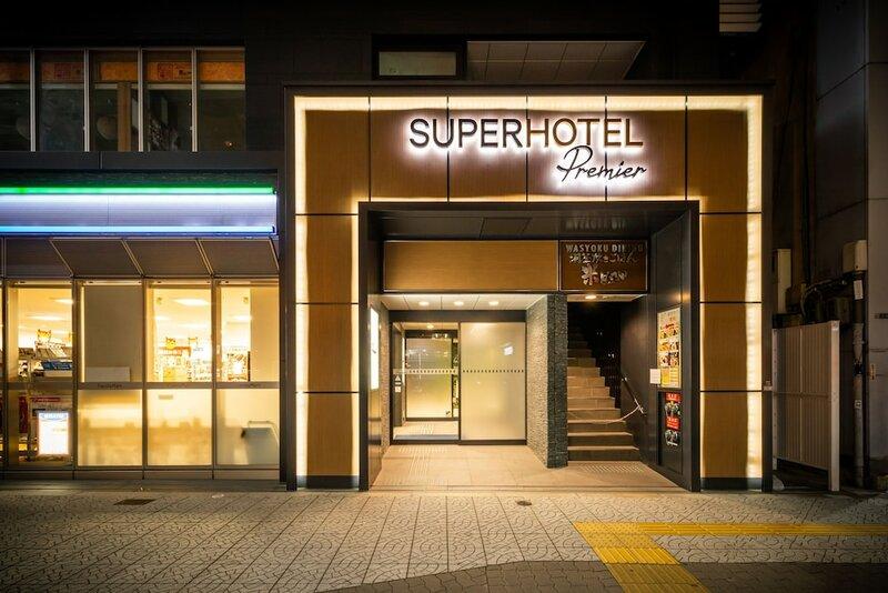 Super Hotel Lohas Honmachi Subwayline Yotsubashi Exit 24