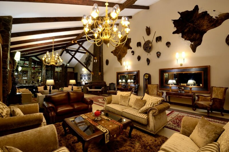 Отель Ngorongoro Oldeani Mountain Lodge