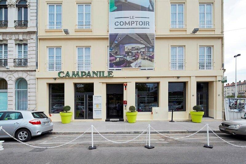 Hôtel Campanile Lyon Centre - Gare Perrache - Confluence