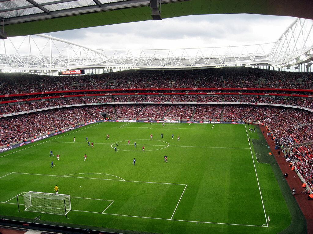 Лучшие стадионы великобритании