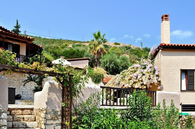 Villa With 3 Bedrooms in Xiropigado, With Wonderful sea View, Enclosed Garden and Wifi - 50 m From the Beach
