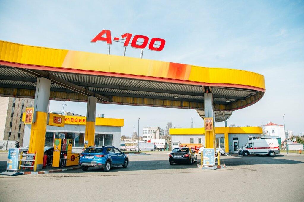 АЗС — А-100 — Минск, фото №2