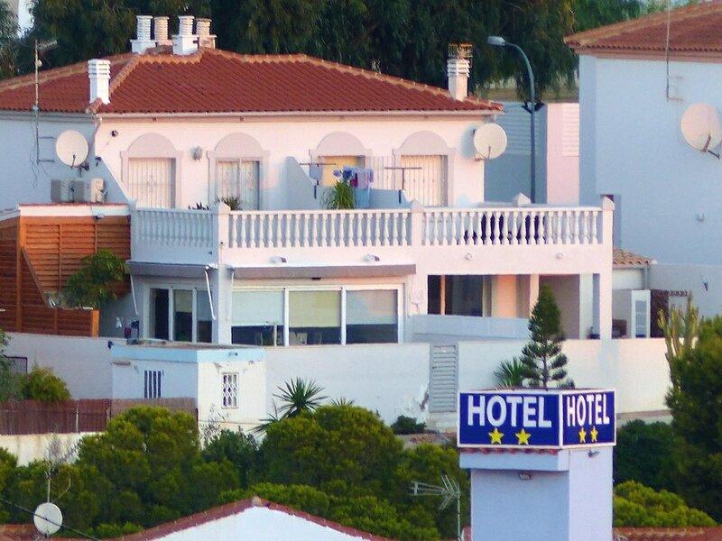 Villa With 3 Bedrooms in San Juan de los Terreros, With Wonderful sea View, Private Pool, Enclosed Garden - 400 m From the Beach