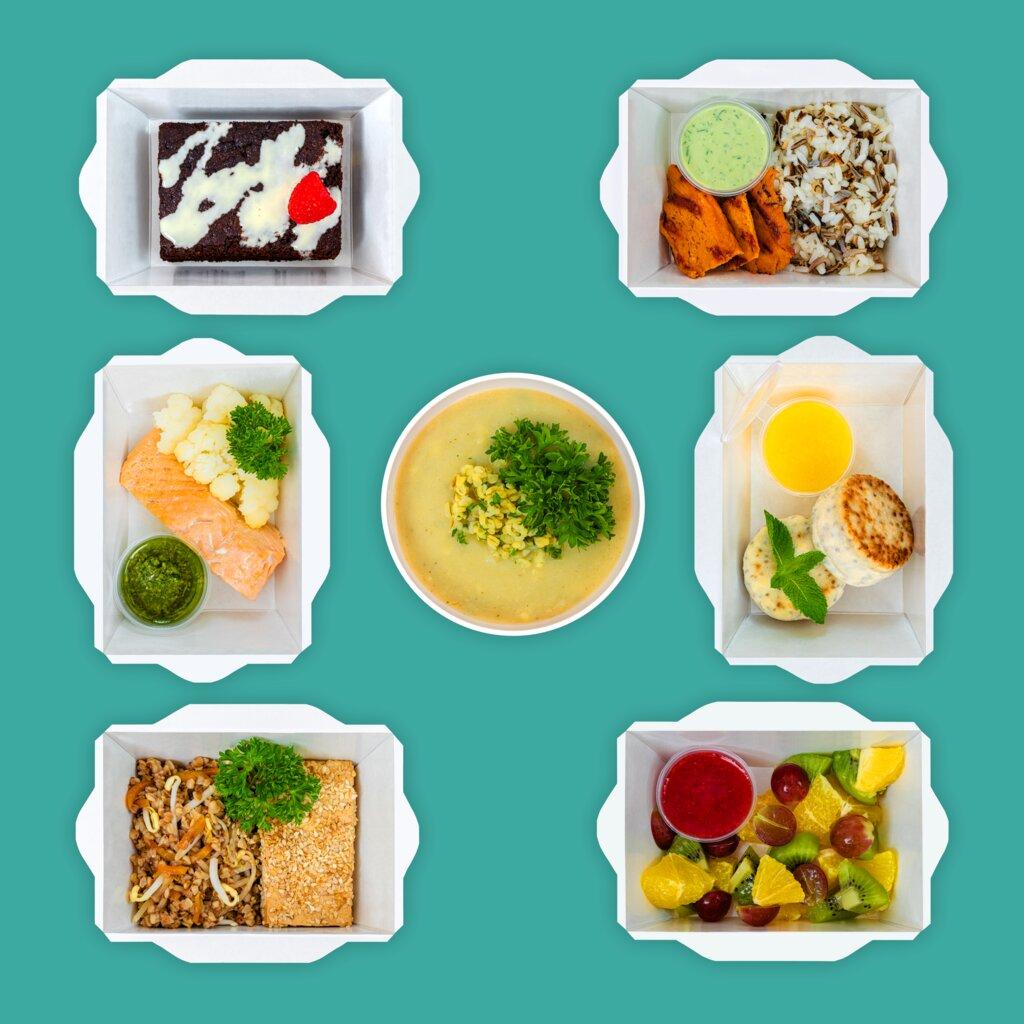 доставка еды и обедов — Geel Food — Москва, фото №1