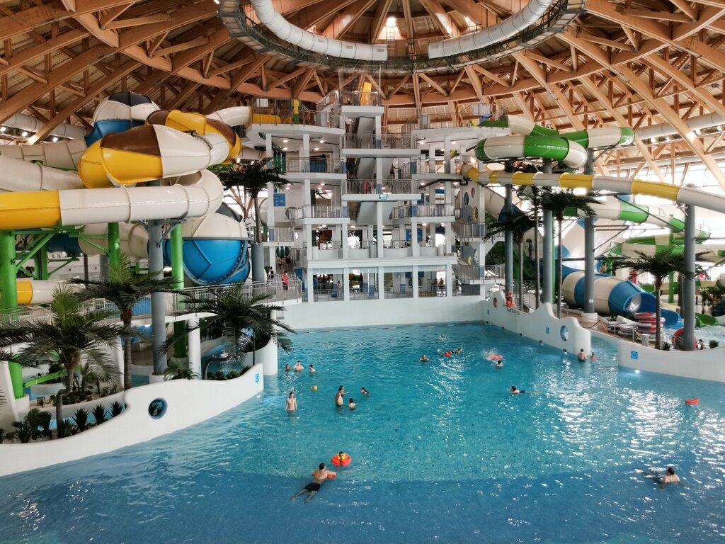 Новосибирский аквапарк картинки внутри помещение