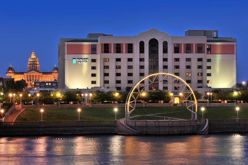 Embassy Suites Hotel Des Moines Downtown