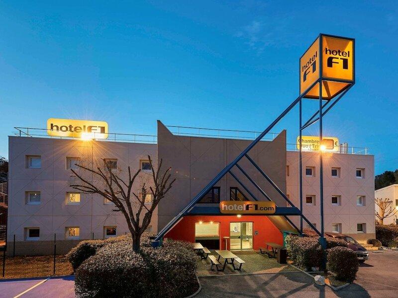 Hotel F1 Orange Centre Echangeur A7 A9