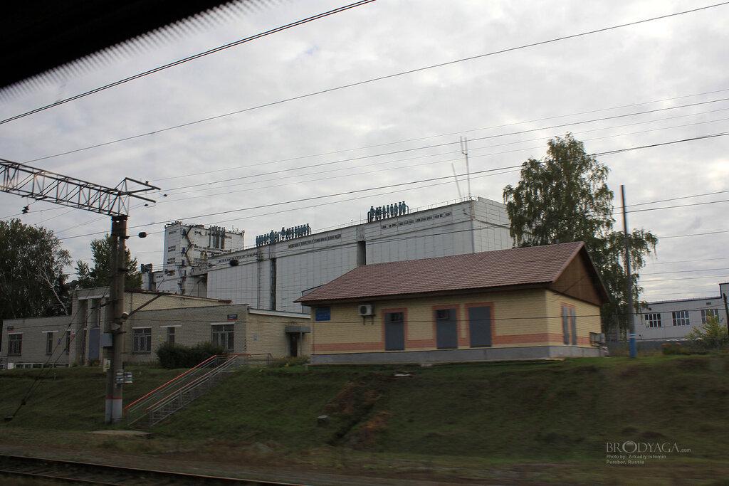 railroad station — станция Перебор — Sverdlovsk Oblast, photo 1