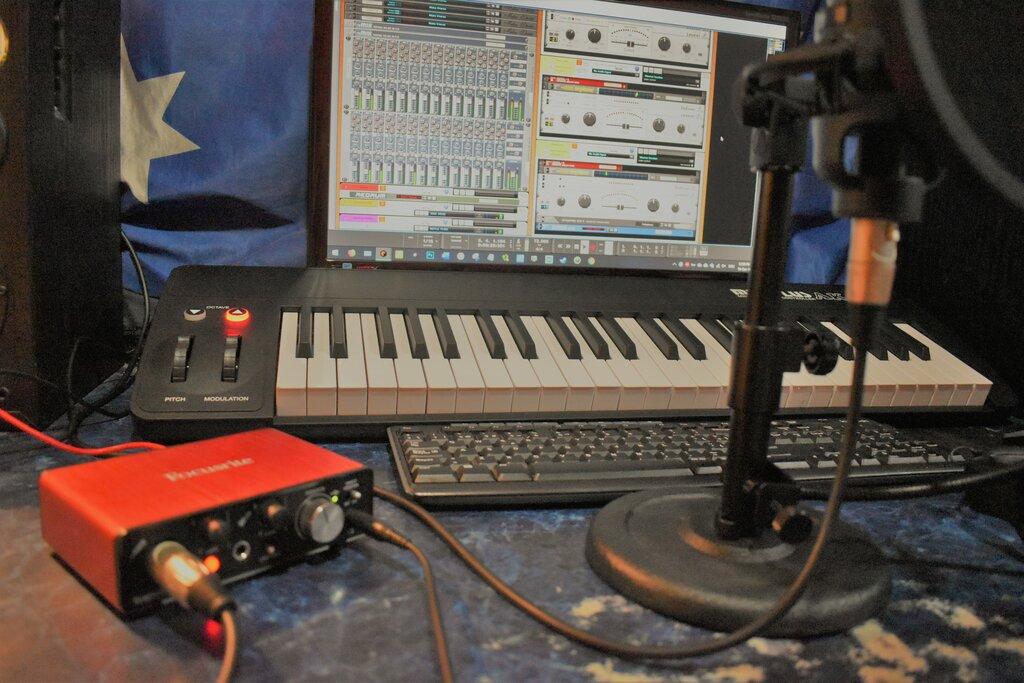 recording studio — Chaos Music — La Pampa Province, photo 2