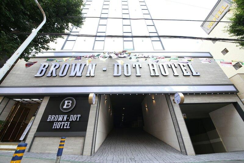 Brown-Dot Hotel Minam