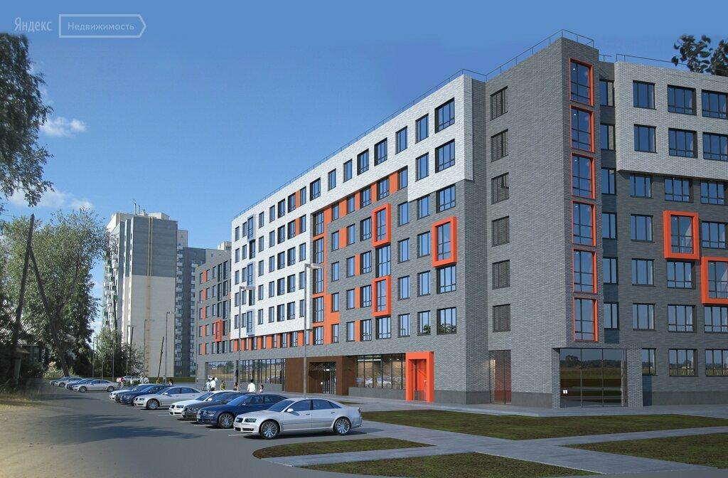 housing complex — ZhK Smorodina — Yekaterinburg, photo 1