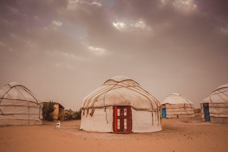 Yurt camp Aydar, офис