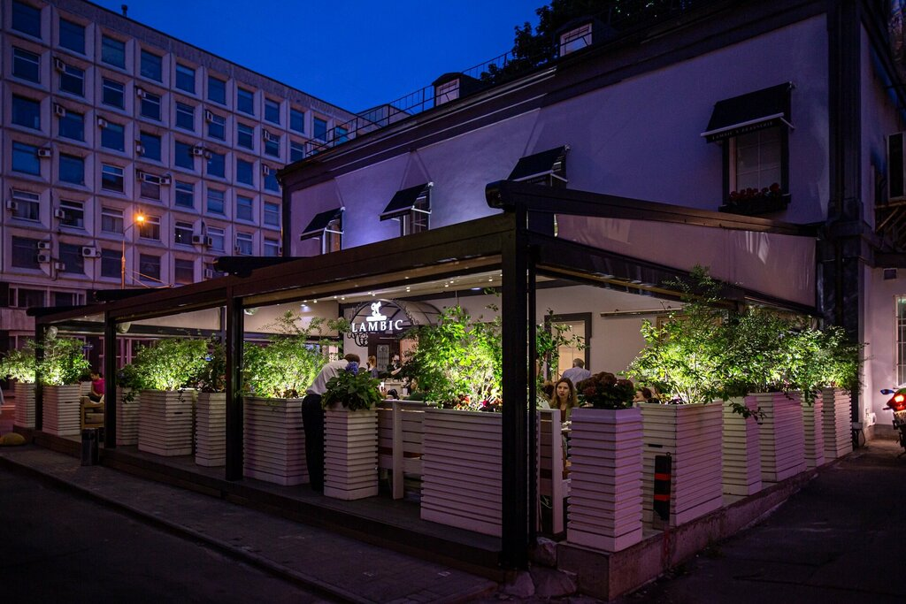 restaurant — Brasserie Lambic — Moscow, photo 1