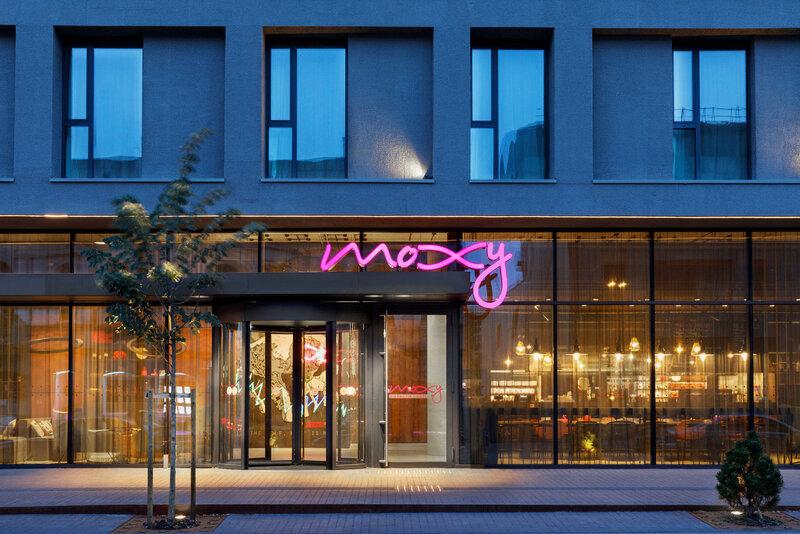Отель Moxy Kaunas