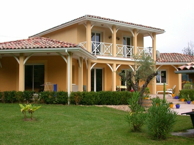 Villa With 3 Bedrooms in Sainte-maure-de-peyriac, With Private Pool, Enclosed Garden and Wifi