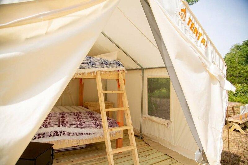 Tentrr - Clove Valley Creek - Campsite