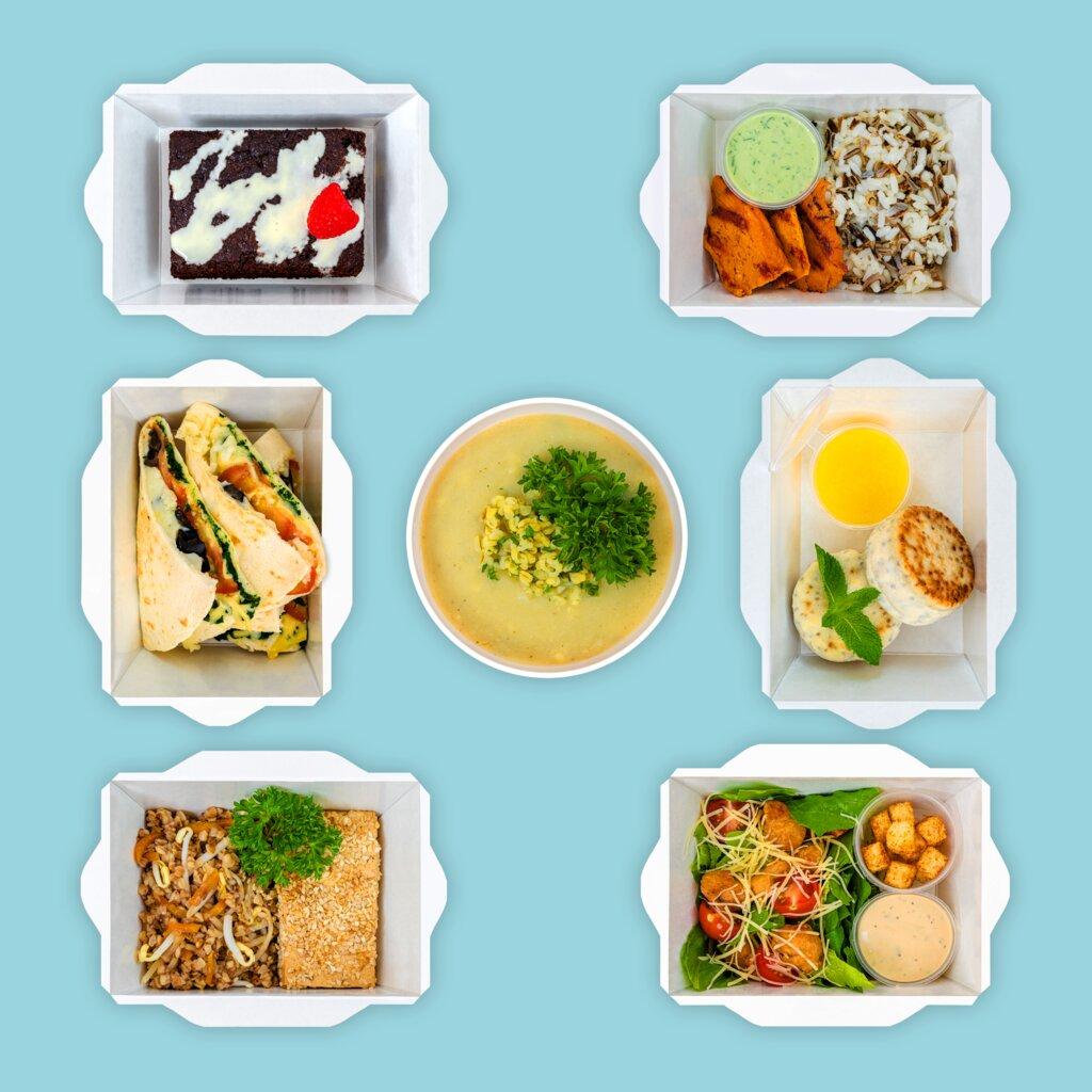 доставка еды и обедов — Geel Food — Москва, фото №2