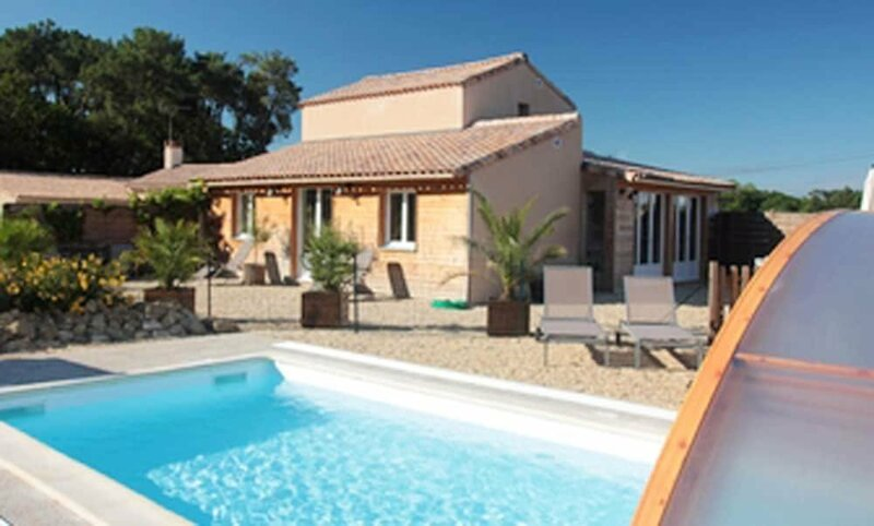 Villa With 6 Bedrooms in Sallertaine, With Private Pool, Enclosed Garden and Wifi - 15 km From the Beach