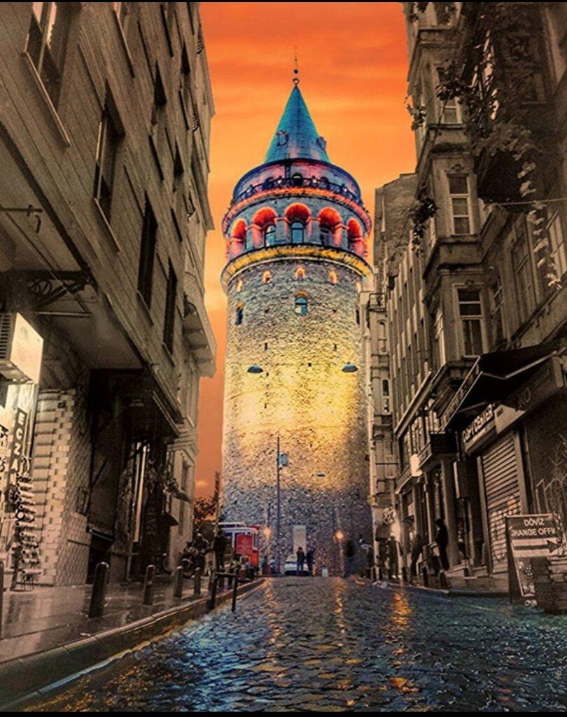 landmark, attraction — Galata Tower — Beyoglu, photo 2