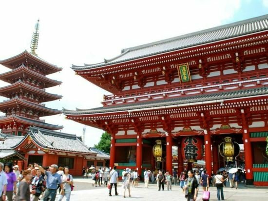 7 min. Walk from Sensoji Temple Overlooking the sky tree meguminoyado Japanese Inn