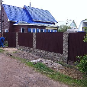 металлические заборы и ограждения — Стальной Рубеж — Северск, фото №1