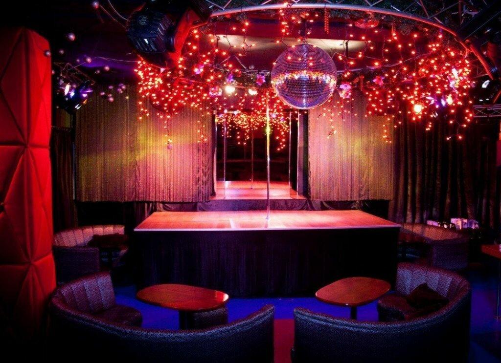 Bars, strip clubs and churches