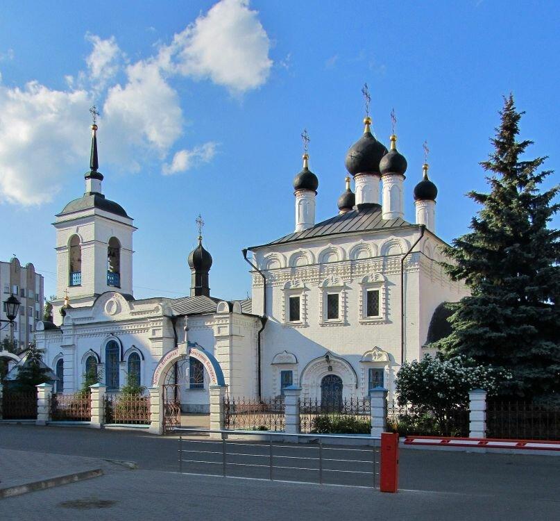 православный храм — Иоанно-Богословский Кафедральный собор — Саранск, фото №1
