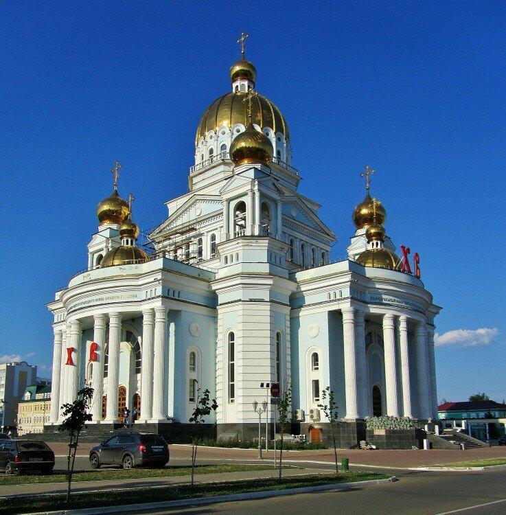 православный храм — Кафедральный собор Феодора Ушакова — Саранск, фото №2