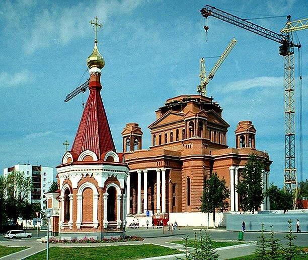 православный храм — Кафедральный собор Феодора Ушакова — Саранск, фото №7
