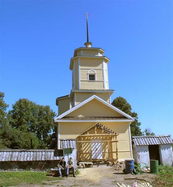 православный храм — Церковь Георгия Победоносца в Ворониче — undefined, фото №9