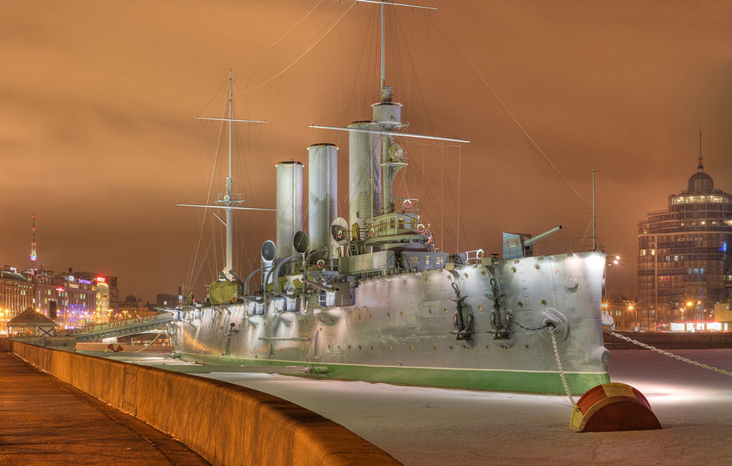 museum — Cruiser Aurora — Saint Petersburg, photo 2