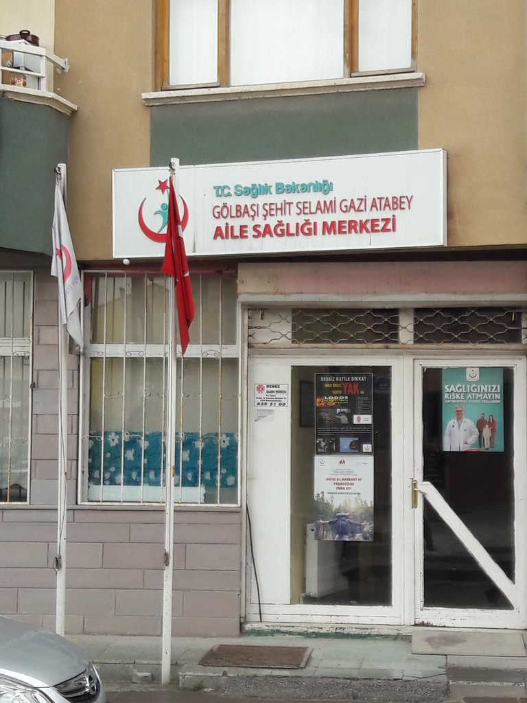 Ankara Golbasi Sehit Selami Gazi Atabey Asm Aile Sagligi