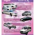 Свадебный кортеж, Автомобили в Новомосковске