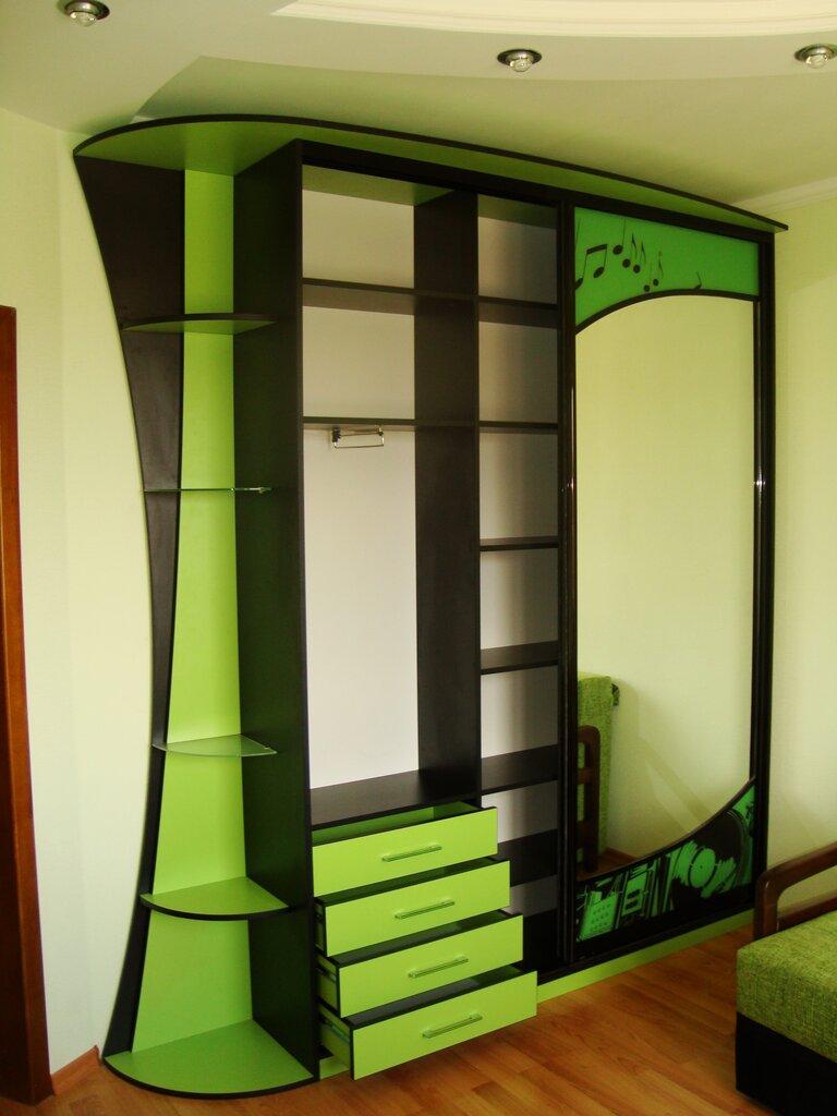 Мебель на заказ картинки корпусная, ромашками днем
