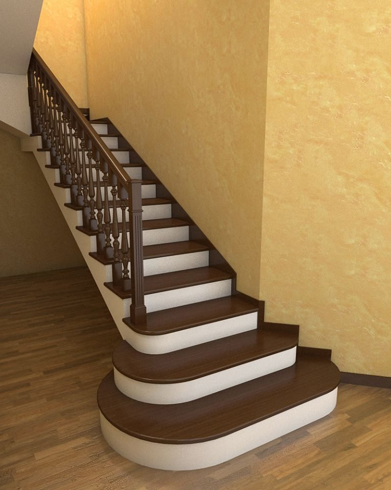 отделка бетонной лестницы в частном доме фото поздравление днём рождения
