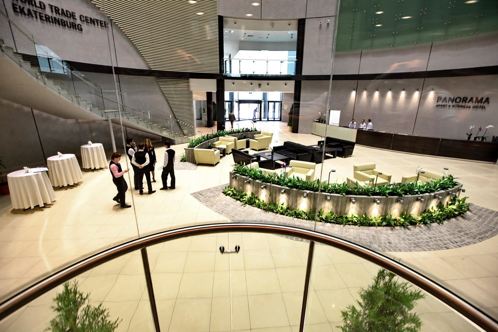 бизнес-центр — Центр международной торговли — Екатеринбург, фото №4