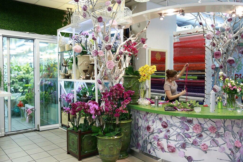 Цветы купить, цветочный магазин в центре москвы