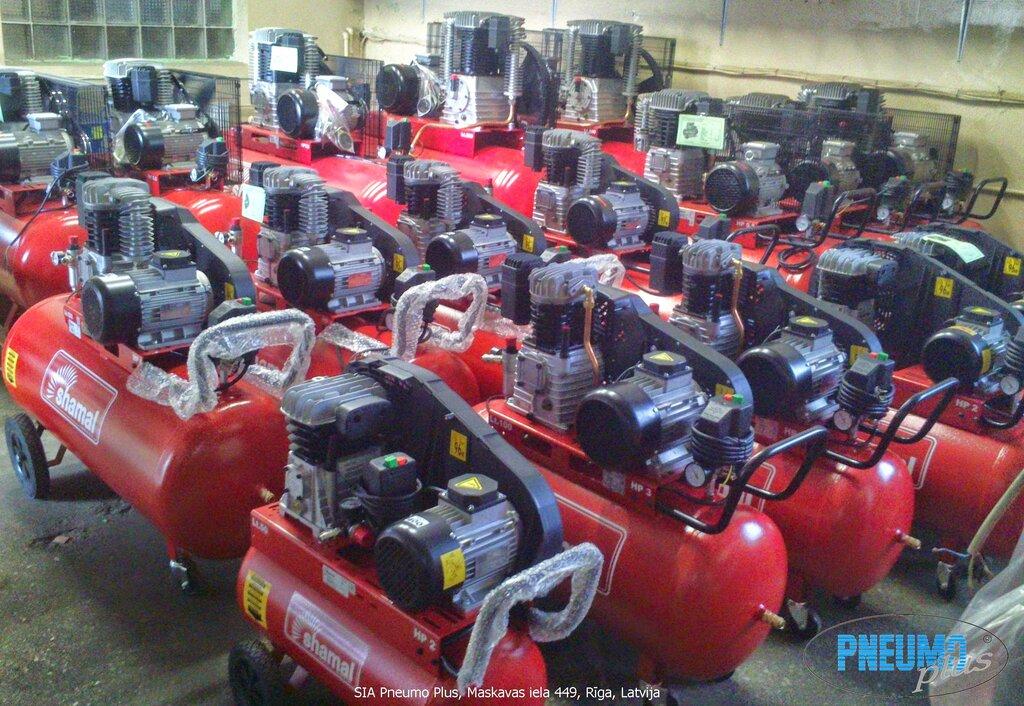компрессоры и компрессорное оборудование — Gaisa kompresori — Рига, фото №1
