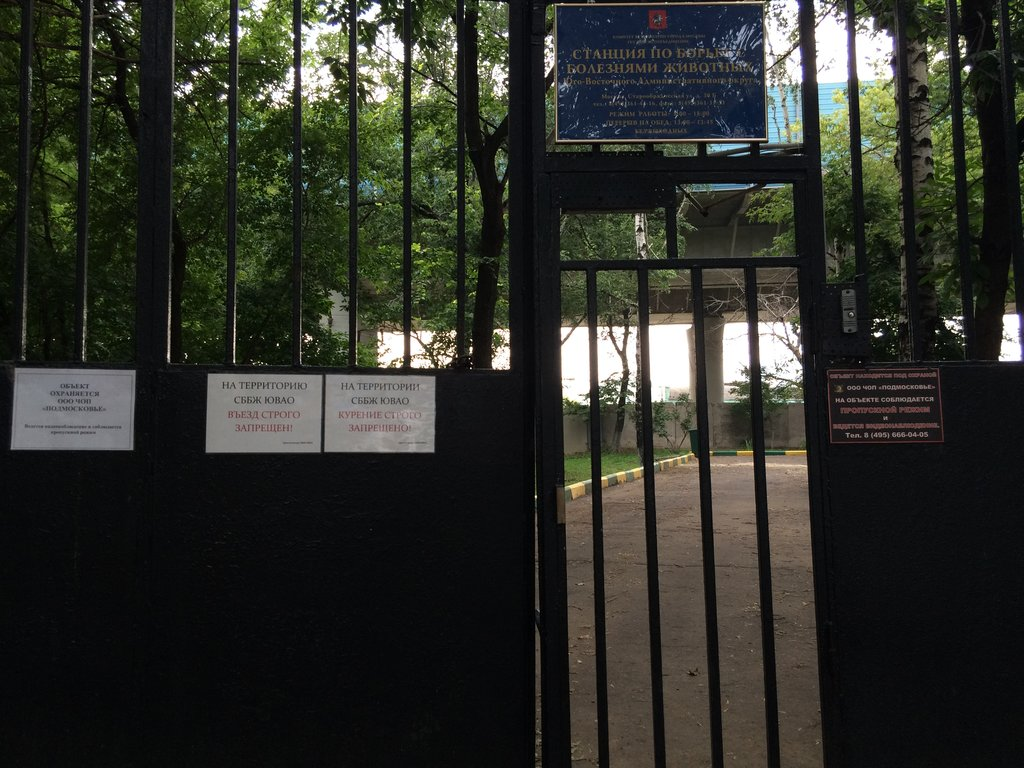 ветеринарная клиника — Станция по борьбе с болезнями животных Юго-Восточного административного округа г. Москвы — Москва, фото №7